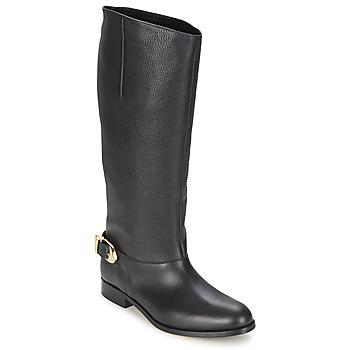 Pantofi Femei Cizme casual Moschino Cheap & CHIC BUCKLE Negru