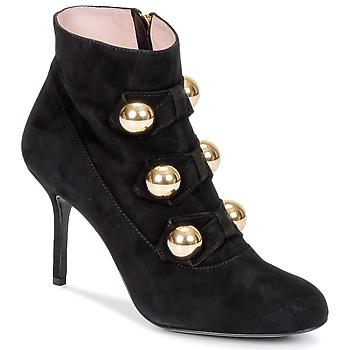 Pantofi Femei Botine Moschino Cheap & CHIC BOW Negru
