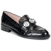 Pantofi Femei Mocasini Moschino Cheap & CHIC STONES Negru