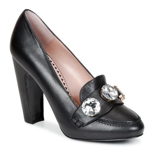 Pantofi Femei Pantofi cu toc Moschino Cheap & CHIC STONES Negru