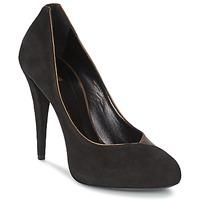 Pantofi Femei Pantofi cu toc Roberto Cavalli YPS530-PC219-D0127 Negru / Mordore