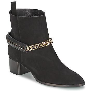 Pantofi Femei Botine Roberto Cavalli YPS542-PC519-05051 Negru