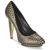 Pantofi Femei Pantofi cu toc Roberto Cavalli YDS622-UC168-D0007 Negru / Auriu