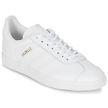 Încăltăminte Pantofi sport Casual adidas Originals GAZELLE Alb