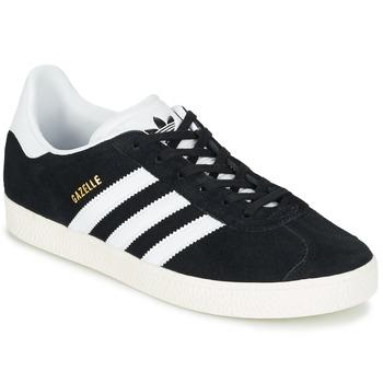 Încăltăminte Copii Pantofi sport Casual adidas Originals GAZELLE J Negru