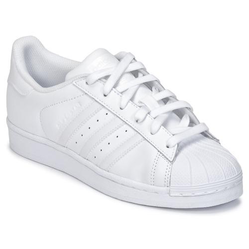 Încăltăminte Copii Pantofi sport Casual adidas Originals SUPERSTAR Alb