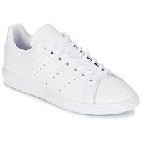 Pantofi Copii Pantofi sport Casual adidas Originals STAN SMITH J Alb