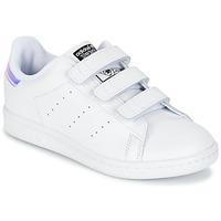 Încăltăminte Fete Pantofi sport Casual adidas Originals STAN SMITH CF C Alb