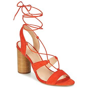 Pantofi Femei Sandale și Sandale cu talpă  joasă Mellow Yellow BRUNE Portocaliu
