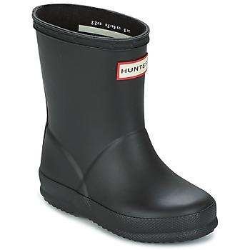 Pantofi Copii Cizme de ploaie Hunter KIDS FIRST CLASSIC Negru