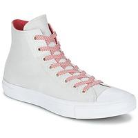 Încăltăminte Pantofi sport stil gheata Converse CHUCK TAYLOR ALL STAR II BASKETWEAVE FUSE HI Ecru / Alb / Roșu