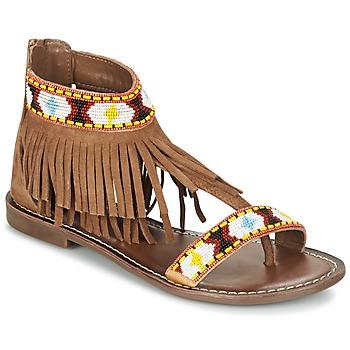 Pantofi Femei Sandale  Metamorf'Ose ZACCIN Maro