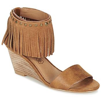 Pantofi Femei Sandale și Sandale cu talpă  joasă LPB Shoes NADIA Camel