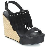 Pantofi Femei Sandale și Sandale cu talpă  joasă LPB Shoes SABINE Negru