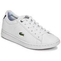 Pantofi Copii Pantofi sport Casual Lacoste CARNABY EVO BL 1 Alb