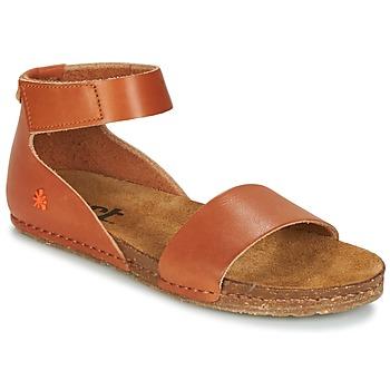 Pantofi Femei Sandale și Sandale cu talpă  joasă Art CRETA Maro