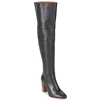 Pantofi Femei Cizme lungi peste genunchi Fericelli NIRI Negru