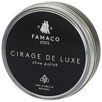 Accesorii Ceară  Famaco BOITE DE CIRAGE DE LUXE MARRON FONCE 100 ML Maro / Culoare închisă