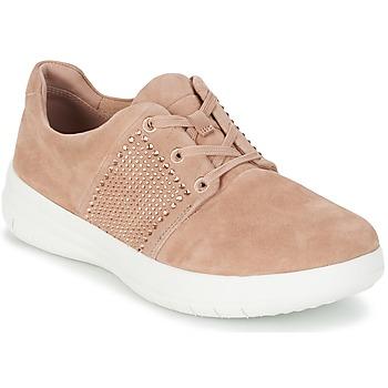 Pantofi Femei Pantofi sport Casual FitFlop SPORTY-POP X CRYSTAL Roz
