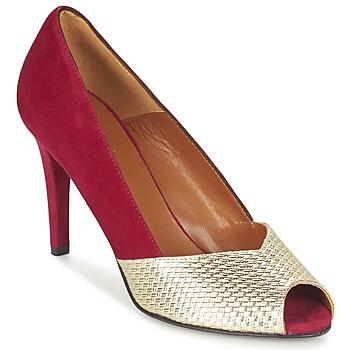 Pantofi Femei Pantofi cu toc Heyraud ELOISE Roșu / Auriu