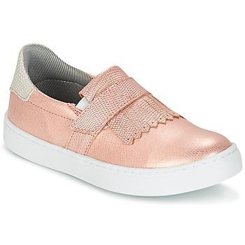 Pantofi Fete Pantofi Slip on Bullboxer ADJAGUE Roz / Auriu