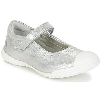 Pantofi Fete Balerin și Balerini cu curea Mod'8 PRISCA Argintiu