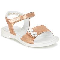 Pantofi Fete Sandale și Sandale cu talpă  joasă Mod'8 JANAH Auriu