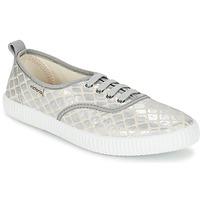 Pantofi Femei Pantofi sport Casual Victoria INGLES TEJ PLACA SERPIENTE Argintiu