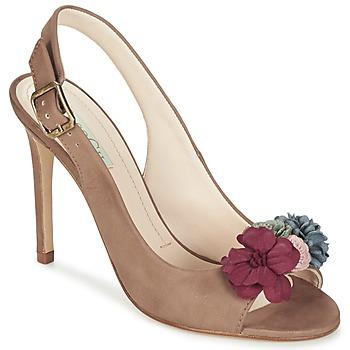 Pantofi Femei Sandale și Sandale cu talpă  joasă Paco Gil BRAZIL Maro