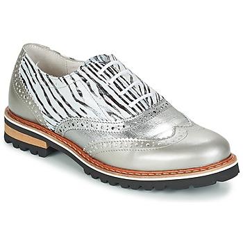 Pantofi Femei Pantofi Derby Regard ROAXA Argintiu