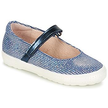 Pantofi Fete Balerin și Balerini cu curea Acebo's SIULO Bleumarin