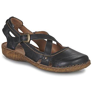 Pantofi Femei Sandale și Sandale cu talpă  joasă Josef Seibel ROSALIE 13 Negru