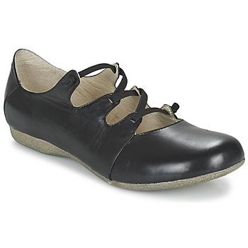 Pantofi Femei Balerin și Balerini cu curea Josef Seibel FIONA 04 Negru