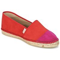 Pantofi Femei Espadrile Pare Gabia VP PREMIUM Roșu / Roz