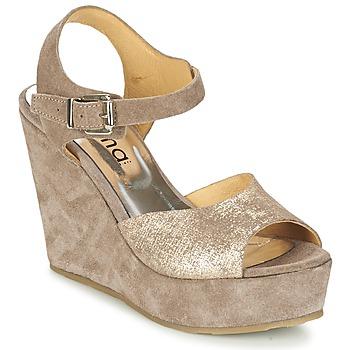 Pantofi Femei Sandale  Myma RAPHIA Taupe