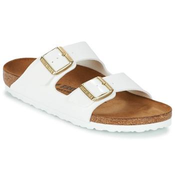 Pantofi Femei Papuci de vară Birkenstock ARIZONA Alb