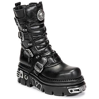 Pantofi Ghete New Rock NEMESIS Negru
