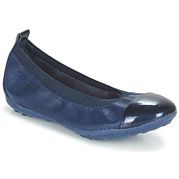 Pantofi Fete Balerin și Balerini cu curea Geox J PIUMA BALL B Bleumarin