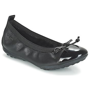 Pantofi Fete Balerin și Balerini cu curea Geox J PIUMA BAL F Negru