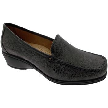 Pantofi Femei Mocasini Calzaturificio Loren LOK3961gr grigio