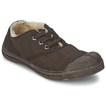 Pantofi Copii Pantofi sport Casual Bensimon TENNIS FOURREES Ciocolatiu
