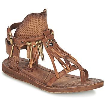 Pantofi Femei Sandale și Sandale cu talpă  joasă Airstep / A.S.98 RAMOS Maro