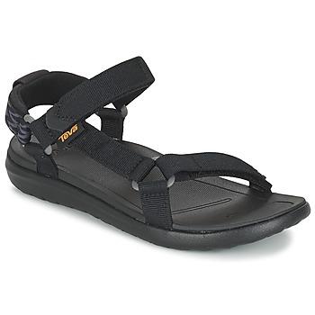 Încăltăminte Femei Sandale și Sandale cu talpă  joasă Teva SANBORN UNIVERSAL Negru