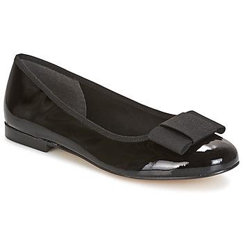Pantofi Femei Balerin și Balerini cu curea Betty London FLORETTE Negru