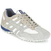 Încăltăminte Bărbați Pantofi sport Casual Geox SNAKE Gri / Alb