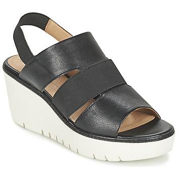 Pantofi Femei Sandale și Sandale cu talpă  joasă Geox D DOMEZIA B Negru