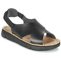 Pantofi Femei Sandale și Sandale cu talpă  joasă Camper ORUGA Negru