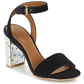 Pantofi Femei Sandale și Sandale cu talpă  joasă See by Chloé SB28001 Negru / Catifea