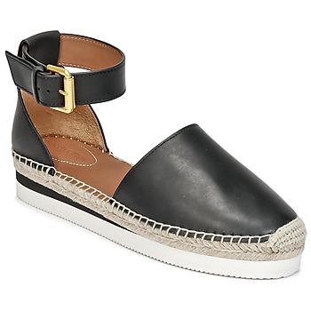 Pantofi Femei Espadrile See by Chloé SB26150 Negru