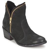 Pantofi Femei Ghete Casual Attitude CALIEL Negru